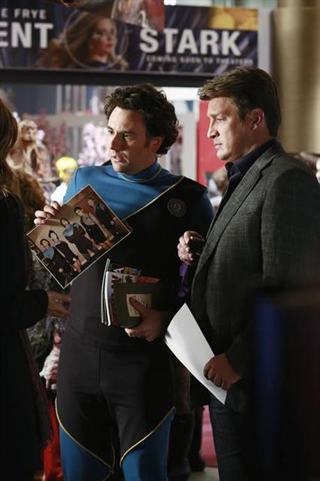 """Castle,"" MONDAY, NOVEMBER 5 (10:01-11:00 p.m., ET) on ABC. (ABC/RON TOM) JEFF GALFER, NATHAN FILLION"