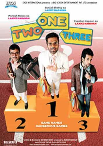 Download One Two Three (2008) Hindi Full Movie 480p [400MB] | 720p [1GB]