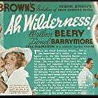 Lionel Barrymore, Wallace Beery, Helen Flint, Eric Linden, and Cecilia Parker in Ah, Wilderness! (1935)