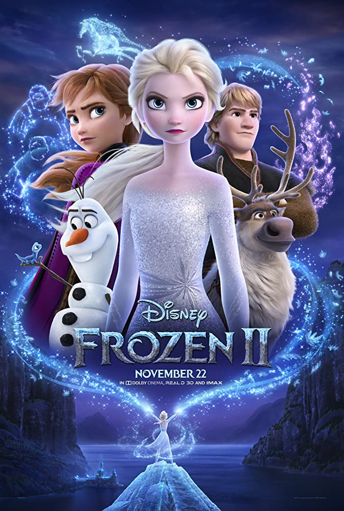 Frozen 2 (2019) 720p BDRip Hindi English Tamil Telugu ESubs