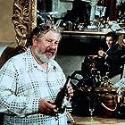 Marcello Mastroianni and Peter Ustinov in Doppio delitto (1977)