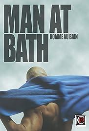 Man at Bath Poster