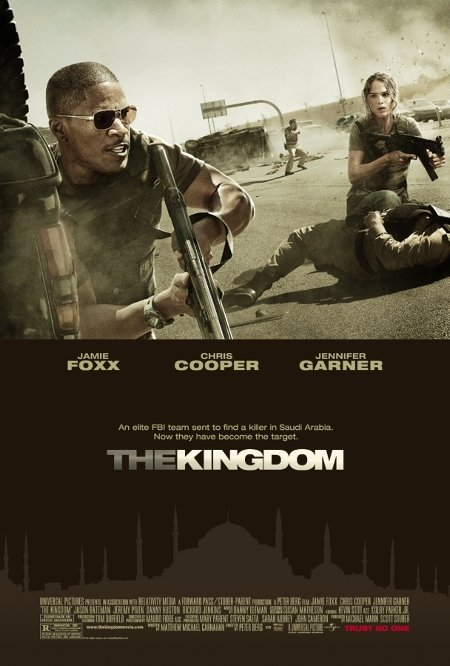 Jason Bateman, Jamie Foxx, Chris Cooper, and Ashraf Barhom in The Kingdom (2007)