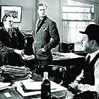 George Sanders, Robert Benchley, and Joel McCrea in Foreign Correspondent (1940)