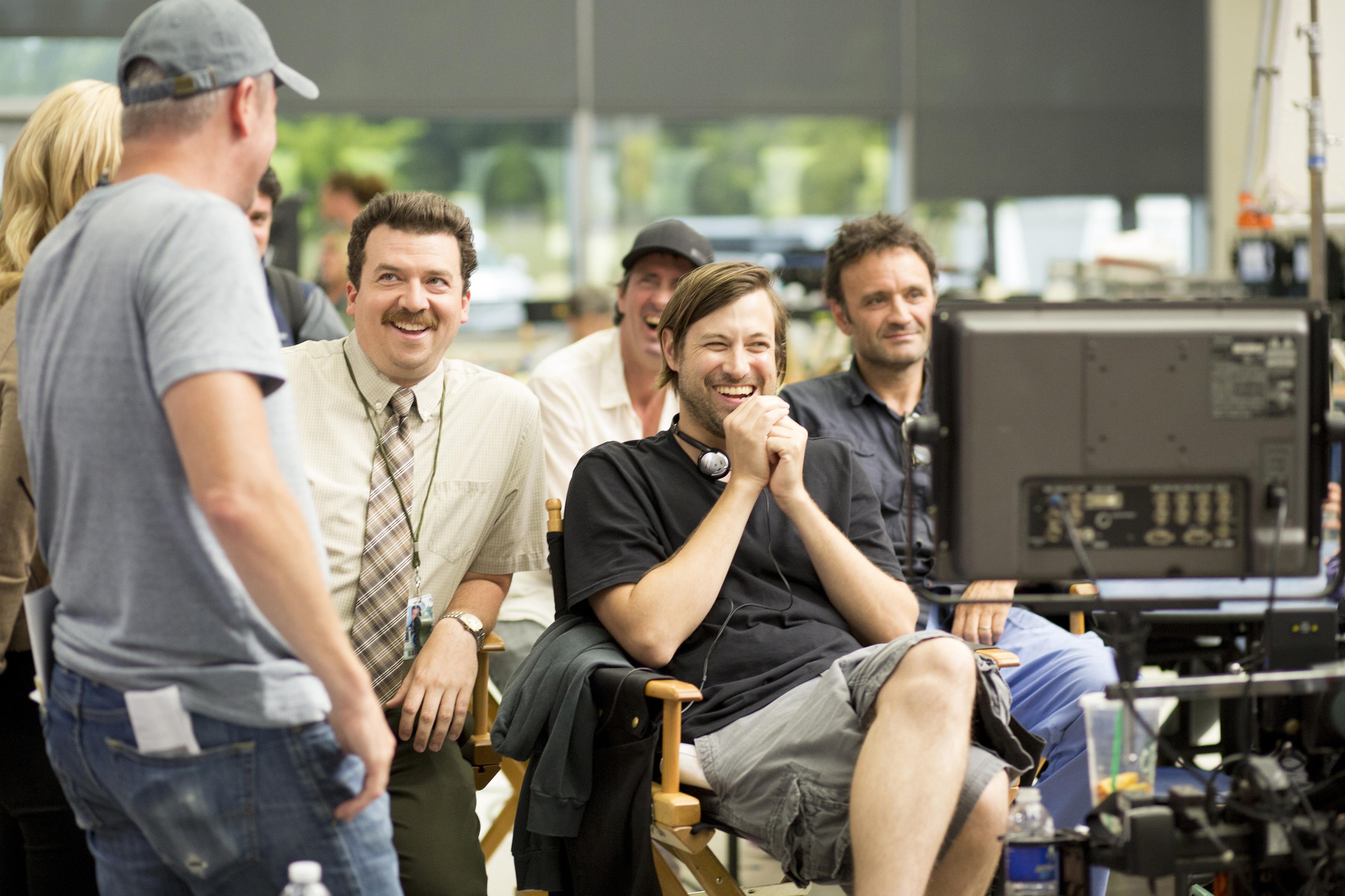 Eric Treml, Jonathan Watson, Danny McBride, and Jody Hill in Vice Principals (2016)
