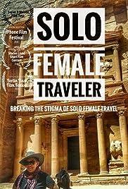 Solo Female Traveler Poster