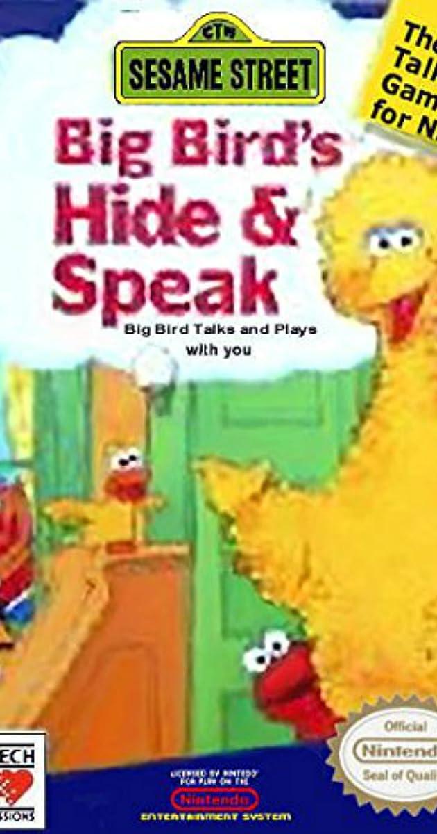 Sesame Street Big Bird S Hide Speak Video Game 1990 Imdb
