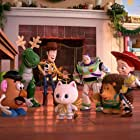 Tom Hanks, Joan Cusack, Tim Allen, Timothy Dalton, Wallace Shawn, Don Rickles, Kristen Schaal, and Emma Hudak in Toy Story That Time Forgot (2014)