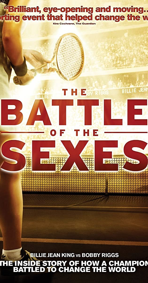 is battle of the sexes on netflix