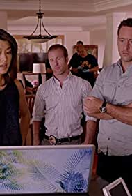 Scott Caan, Grace Park, and Alex O'Loughlin in Hawaii Five-0 (2010)