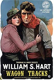 William S. Hart and Jane Novak in Wagon Tracks (1919)