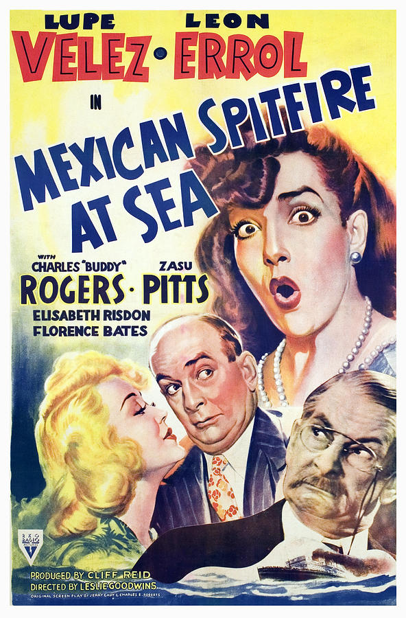 Leon Errol, Marion Martin, and Lupe Velez in Mexican Spitfire at Sea (1942)