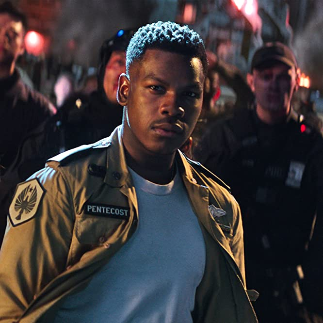 Scott Eastwood, John Boyega, Ivanna Sakhno, Mackenyu, and Cailee Spaeny in Pacific Rim: Uprising (2018)