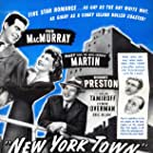Fred MacMurray, Mary Martin, Lynne Overman, Robert Preston, and Akim Tamiroff in New York Town (1941)