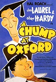 Oliver Hardy and Stan Laurel in A Chump at Oxford (1939)