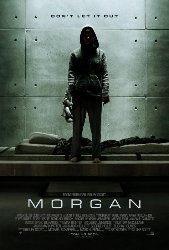 Morgan (2016) มอร์แกน ยีนส์มรณะ