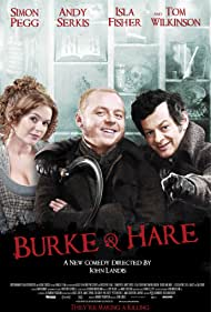 Isla Fisher, Simon Pegg, and Andy Serkis in Burke and Hare (2010)