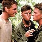 Michael J. Fox, Sean Penn, John C. Reilly, and Don Harvey in Casualties of War (1989)