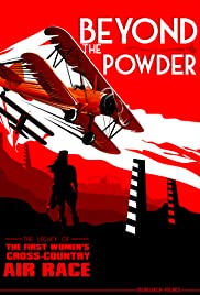 Beyond the Powder: The Legacy of the First Women's Cross-Country Air Race Poster