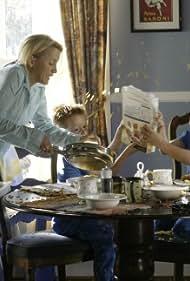 Felicity Huffman, Zane Huett, Brent Kinsman, Shane Kinsman, Dylan Cline, and Jordan Cline in Desperate Housewives (2004)