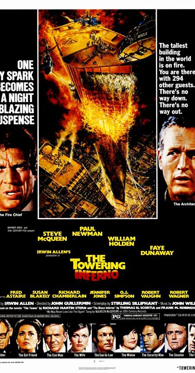 Image result for towering inferno credits