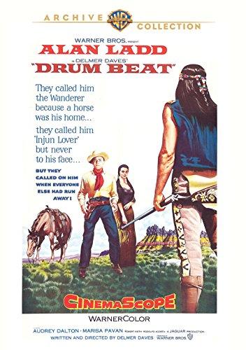 Alan Ladd and Marisa Pavan in Drum Beat (1954)