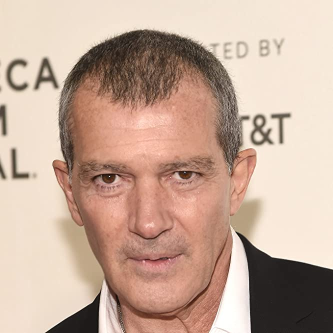 Antonio Banderas at an event for Genius (2017)