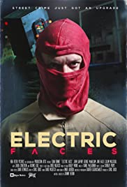 Electric Faces Poster