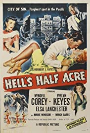 Hell's Half Acre (1954) Poster - Movie Forum, Cast, Reviews