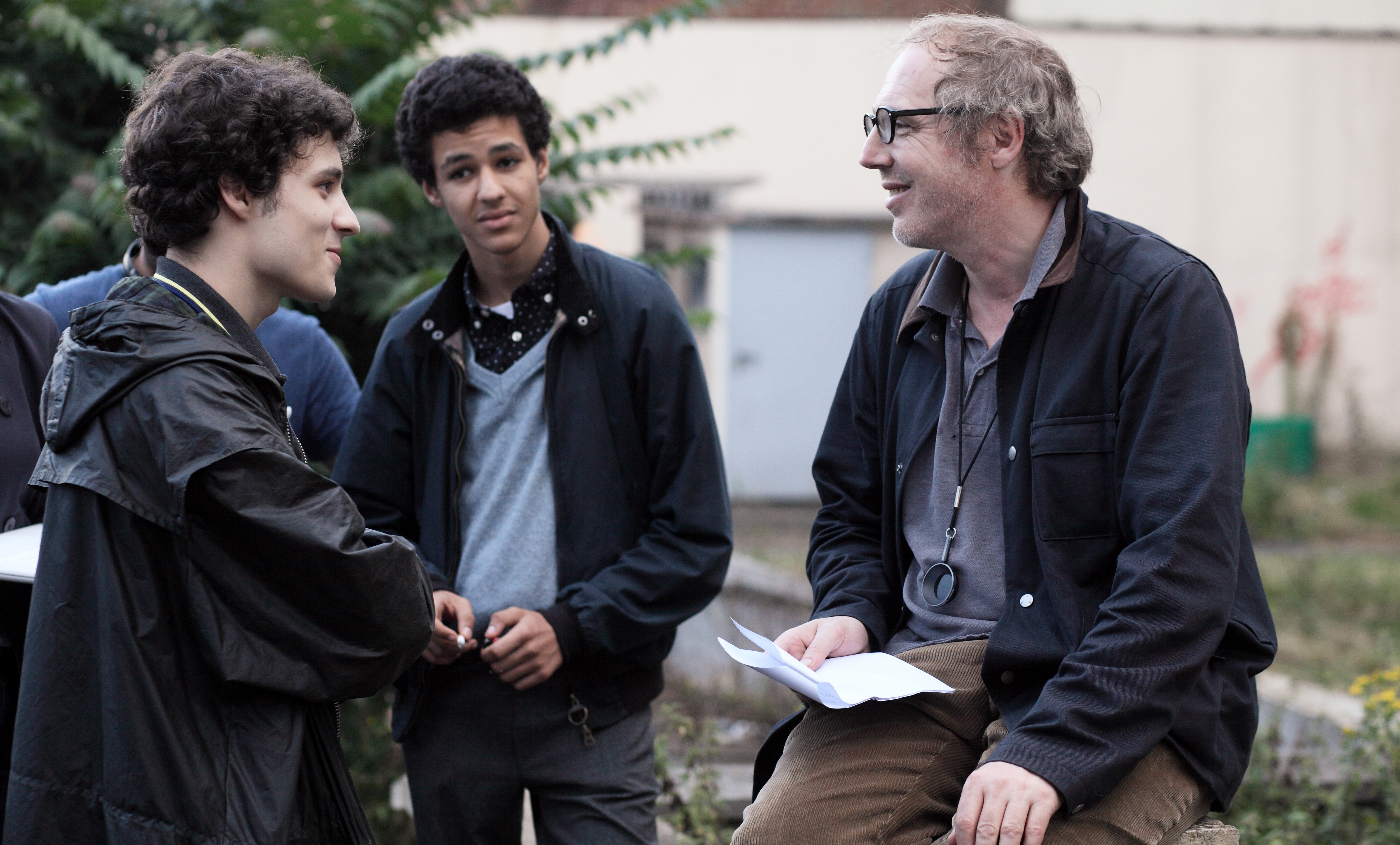 Arnaud Desplechin and Quentin Dolmaire in Trois souvenirs de ma jeunesse (2015)