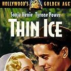 Tyrone Power and Sonja Henie in Thin Ice (1937)
