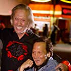 David Carradine and Rob Schneider at an event for Big Stan (2007)