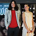 Mauricio Paniagua and Juana Viale at an event for Trópico (2020)