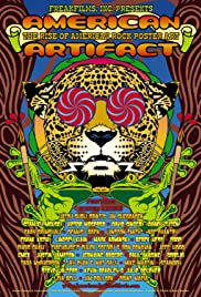 American Artifact: The Rise of American Rock Poster Art Poster