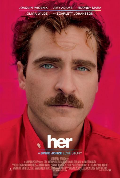 Joaquin Phoenix in Her (2013) Best Romantic movies