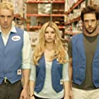 Jessica Simpson, Dane Cook, and Dax Shepard in Employee of the Month (2006)