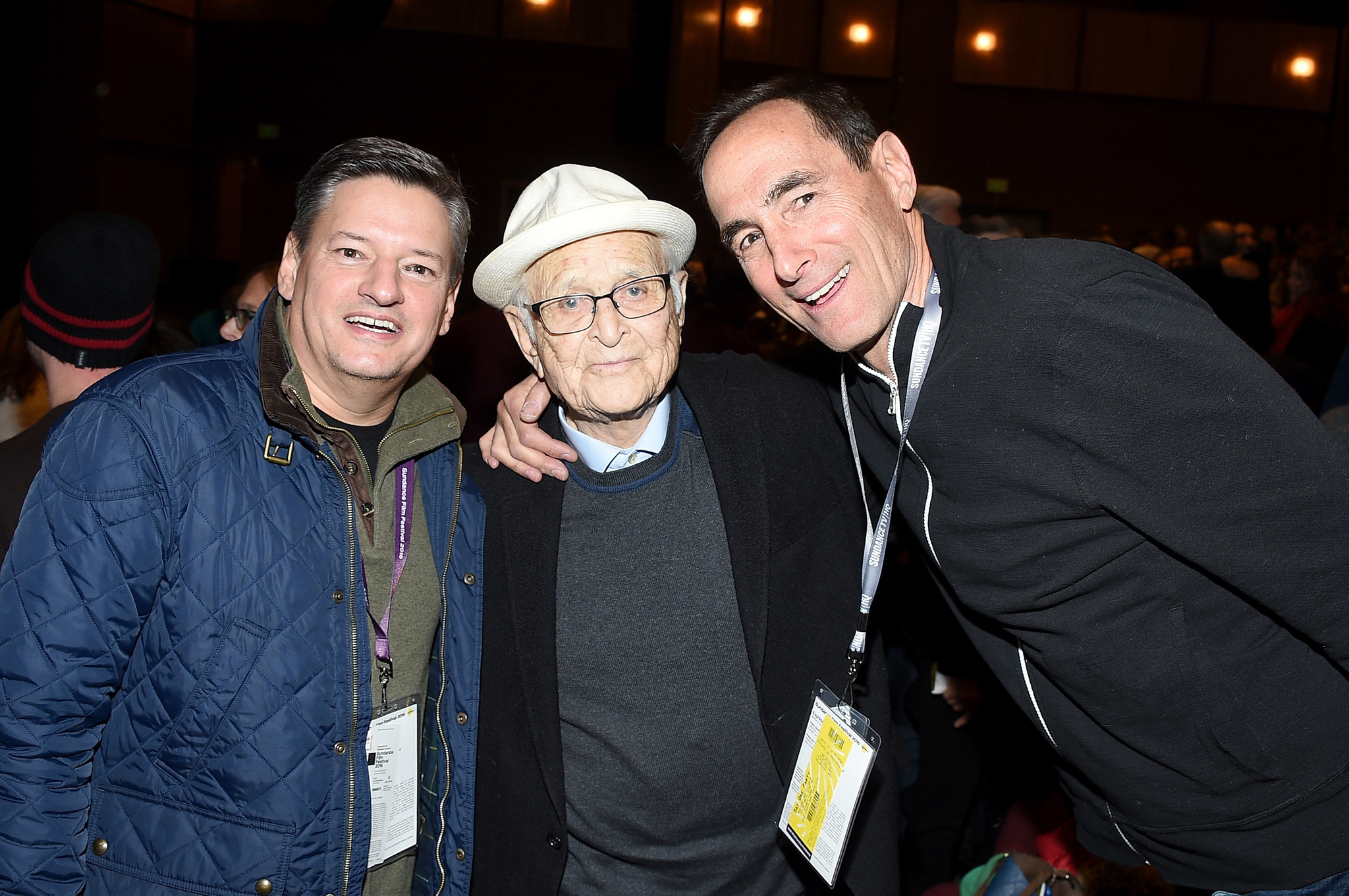 Norman Lear and Ted Sarandos at an event for Norman Lear: Just Another Version of You (2016)