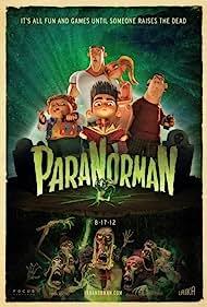 Casey Affleck, Bernard Hill, Anna Kendrick, Kodi Smit-McPhee, Christopher Mintz-Plasse, and Tucker Albrizzi in ParaNorman (2012)