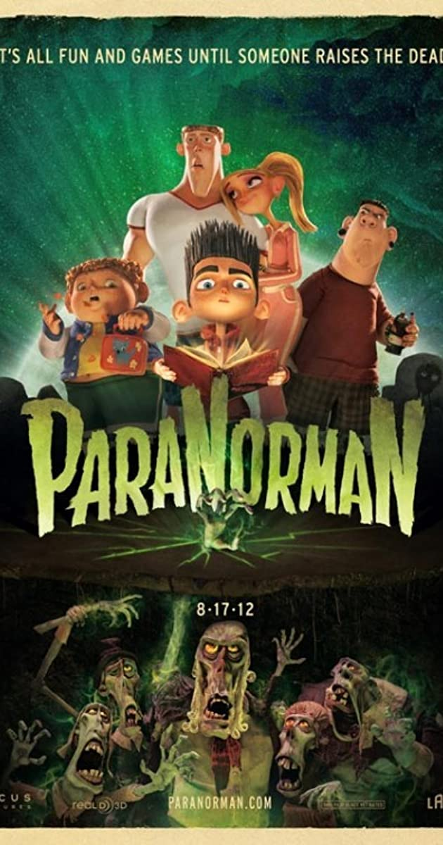 Subtitle of ParaNorman