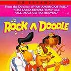 Christopher Plummer, Glen Campbell, Eddie Deezen, Sandy Duncan, Toby Scott Ganger, Ellen Greene, and Phil Harris in Rock-A-Doodle (1991)