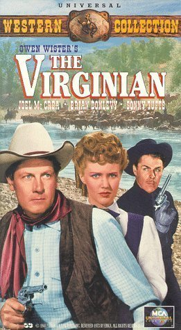 Brian Donlevy, Barbara Britton, and Joel McCrea in The Virginian (1946)