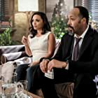 Jesse L. Martin and Danielle Nicolet in The Flash (2014)