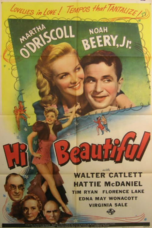 Noah Beery Jr., Walter Catlett, Florence Lake, Martha O'Driscoll, and Tim Ryan in Hi, Beautiful (1944)