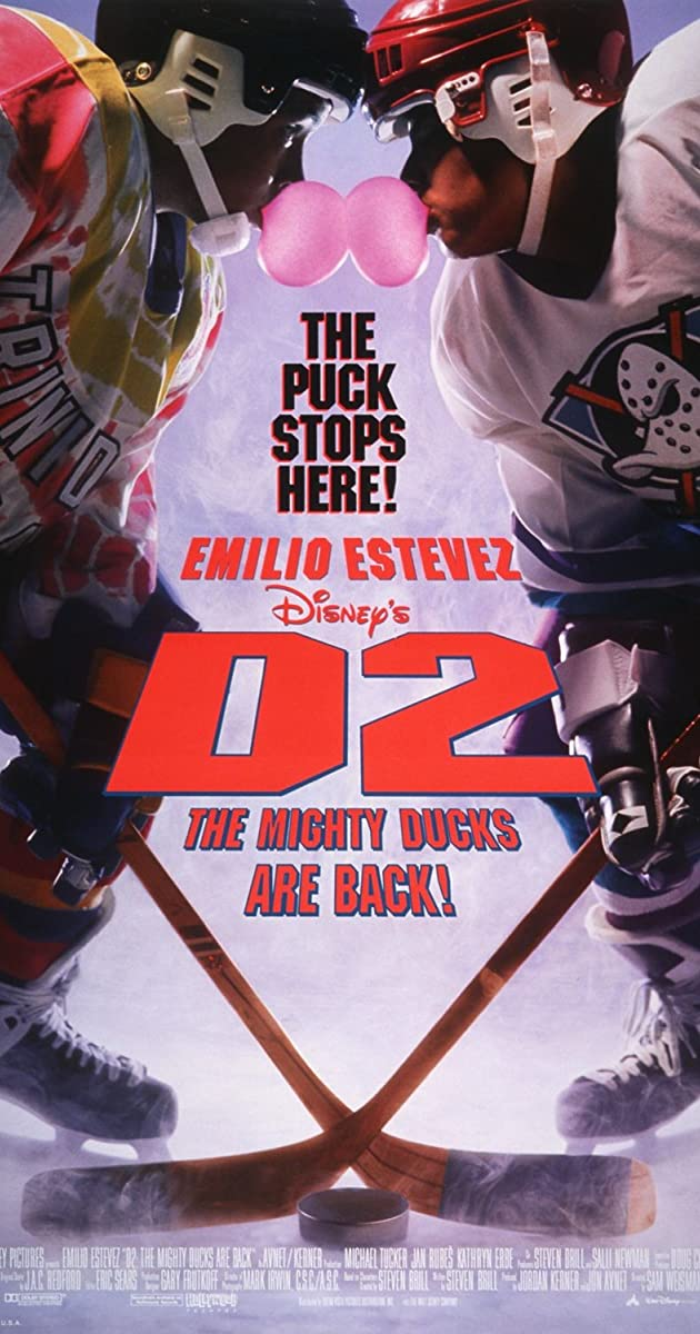Subtitle of D2: The Mighty Ducks