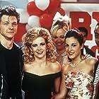 Melissa Joan Hart, Caroline Rhea, Lindsay Sloane, and Nate Richert in Sabrina the Teenage Witch (1996)