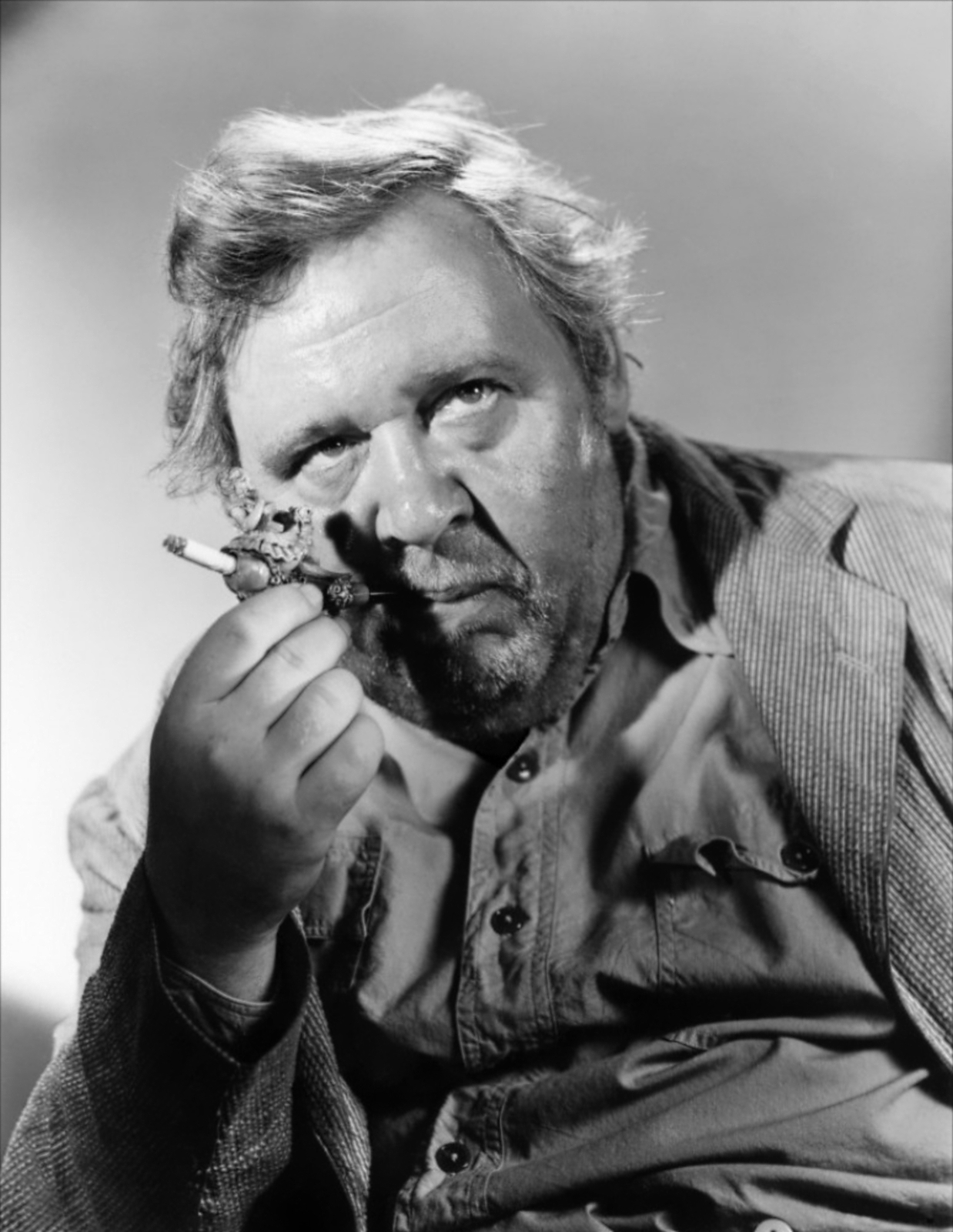 Charles Laughton in The Bribe (1949)