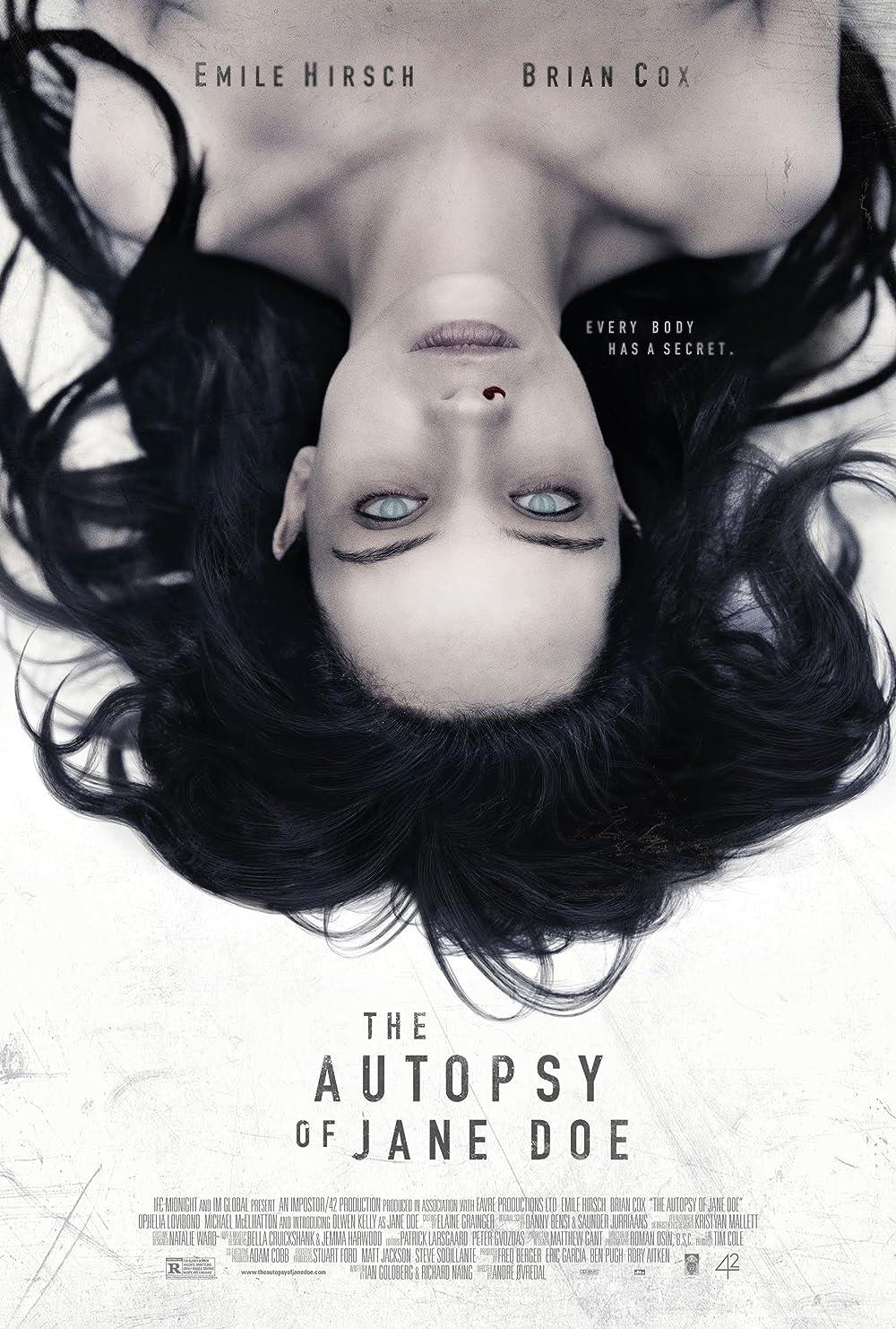فيلم The Autopsy of Jane Doe مترجم