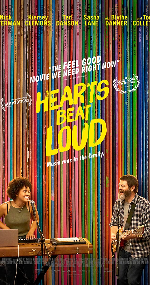 Subtitle of Hearts Beat Loud
