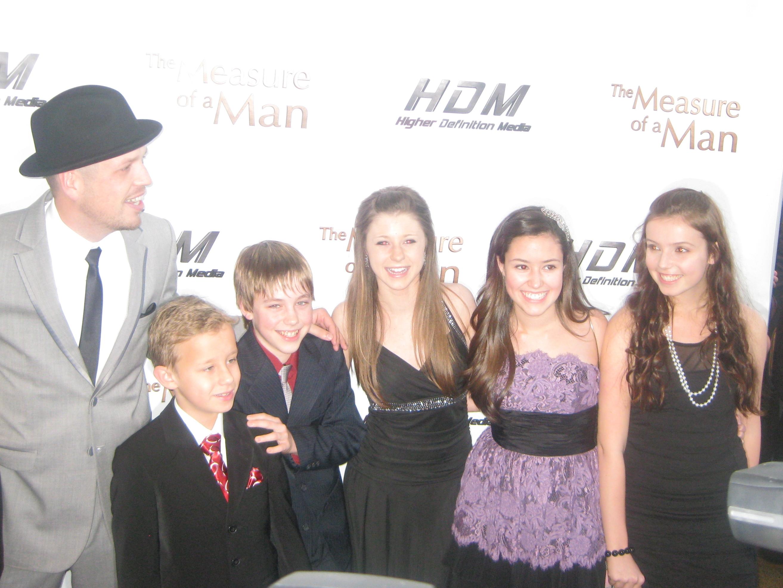 """The Measure of a Man"" Premiere: Andrew Waite, Carsen Werner, Cody Sullivan, Alana Hamilton, Madeline Penn, Tina Mirka (March 2011)"