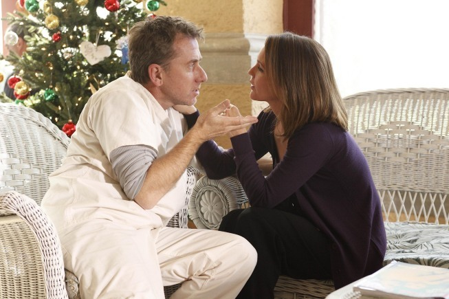 Tim Roth and Kelli Williams in Lie to Me (2009)